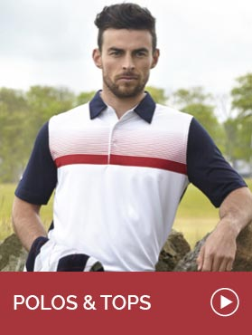 GolfGarb: Mens Polos and Tops