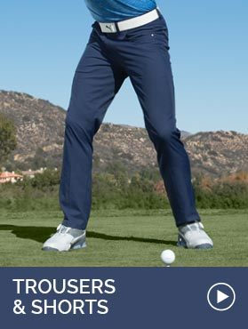 GolfGarb: Mens Trousers and Shorts